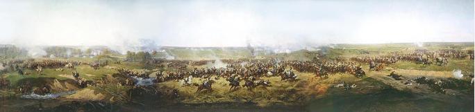 Картинки по запросу бородинская битва панорама