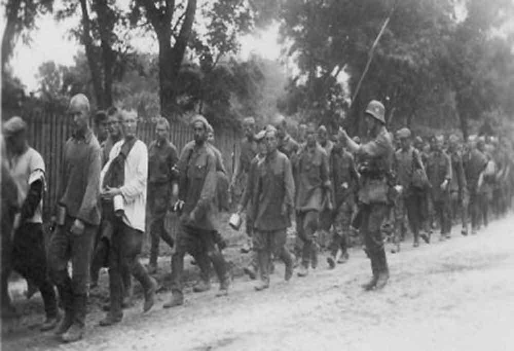 вяземский котел - пленение солдат