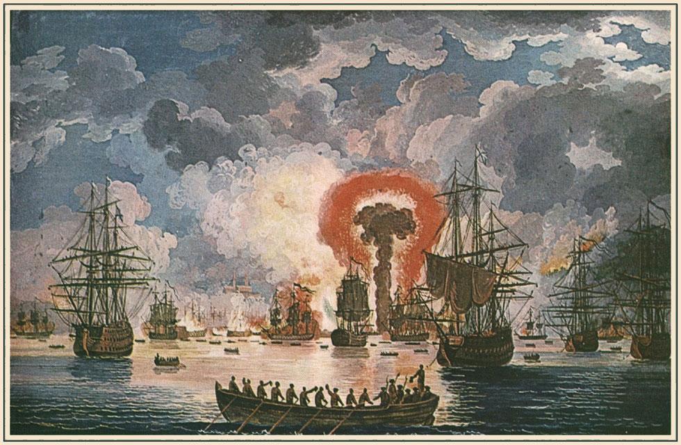 Бой в Чесменской бухте