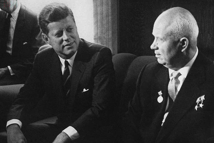 Хрущев и Кенеди