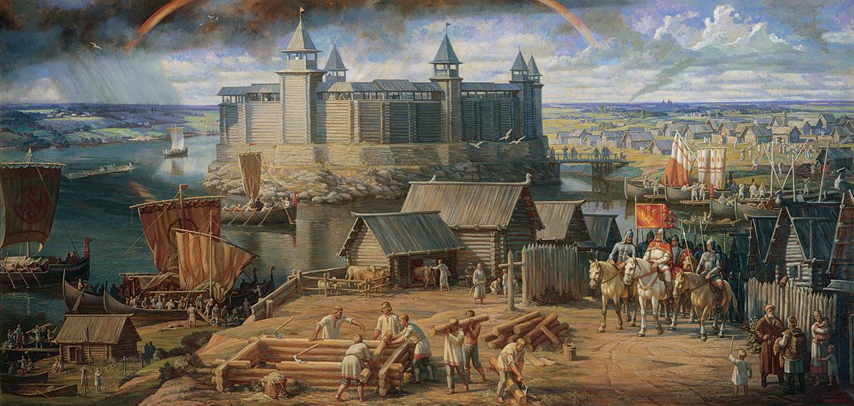 Картинки древнего города киева