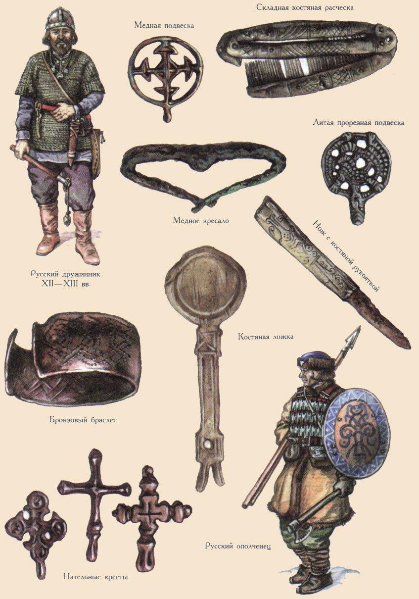 медальоны и украшения Галицко-Волынского княжества