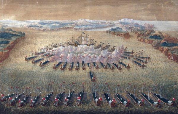 Морские сражение - Гангутская битва