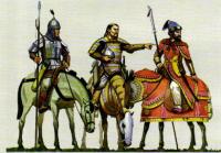 Монгольские вйоска в битве