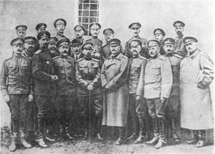Корнилов и другие арестованные генералы