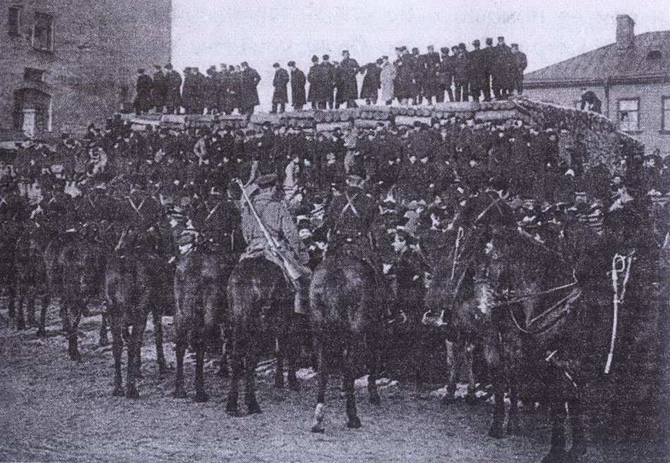 Фотография армии 9 января 1905