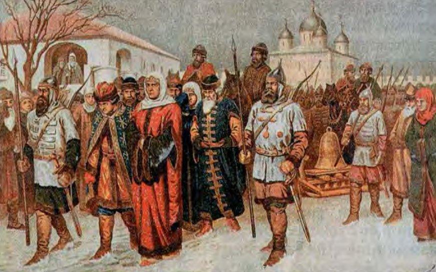 Вывоз вечевого колокола Новгорода в Москву - 1478 год