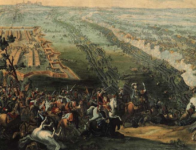 Полтавская битва кратко