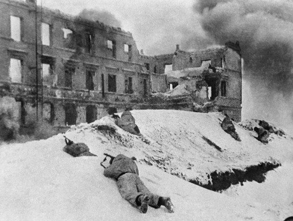 зимние бои в Сталинграде